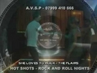 She Loves To Rock (The Flairs) - (Shaky's Rock and Roll VIDEO Jukebox) @ HOT SHOTS