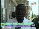 Don de matériel à l'hôpital général de Loandjili