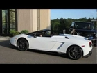 LP 570-4 Spyder Performante light revs + driving HD