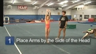 Cheerleading Stunts & Jumps: How to Do Back Handsprings