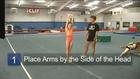 Cheerleading Stunts & Jumps: How to Do Back Handsprings