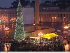 Papa: Pomul şi ieslea de Crăciun aduc un mesaj de speranţă