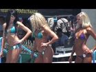 Bikini Models #2 - Muscle Beach Competition Memorial Day 2012