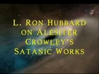l. ron hubbard recommending aleister crowley's works (