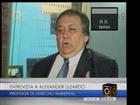Alexander Luzardo, profesor de Derecho Ambiental, habla acer