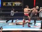 Kentaro Shiga, Makoto Hashi & Tamon Honda vs AKIRA, Kyosuke Mikami & Riki Choshu