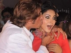 Shakti Kapoor CAUGHT KISSING Veena Malik