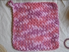 How to Crochet a Mesh Wash Rag Tutorial