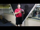 Medicine Ball Overhead Slam Abdominal Workout Explosive Exercise