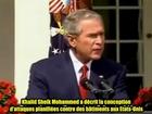 11 Septembre 2001 Bush Dit que des Explosifs ont été Utilisés le 11 Septembre 2001