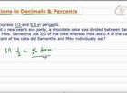 How to Convert Fractions and Decimals into Percents