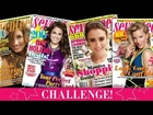 Seventeen Cover Makeup Challenge - Shay Mitchell Challenges You!