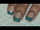Nail Art Tutorial -- Polka Dot French Tip Manicure