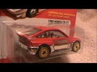 1985 Honda CR-X the Hot Ones Hot Wheels