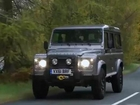 2012 Land Rover Defender Driving Footage
