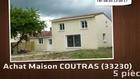 Vente - maison - COUTRAS (33230)  - 500m²