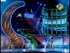 Iqbal & Binny's Rain Dance performance at Zee Rishtey Awards