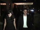 Lindsay Price, Rachel Hunter and Karolina Kurkova arrive at the after party for