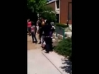 High School Teen Girl puts Down her Baby and gets into EPIC Fight...