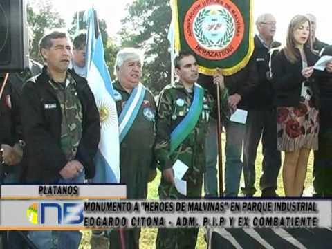 MONUMENTO A HEROES DE MALVINAS EN PARQUE INDUSTRIAL | PopScreen