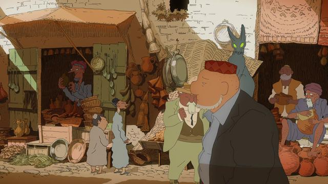 THE RABBI'S CAT - LE CHAT DU RABBIN - TRAILER