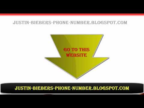Call Justin Bieber on Justin Bieber Phone Number To Call Him 2012     Popscreen