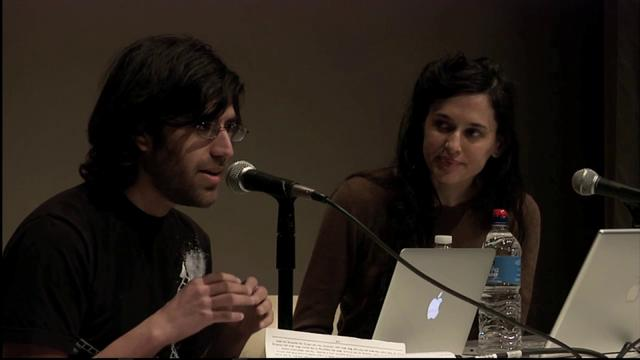 Seven on Seven 2012: Aaron Swartz and Taryn Simon | PopScreen