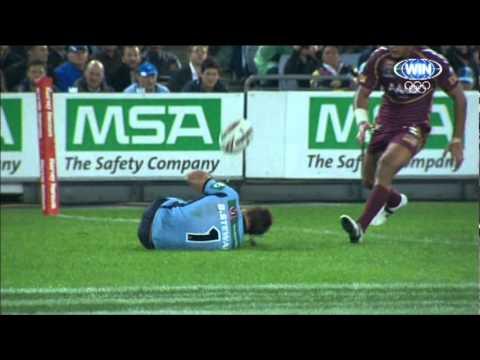 Funny QLD/NSW Slip 11th Minute - State Of Origin (2) 2012