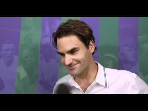 Roger Federer vs Julien Benneteau highlights Wimbledon 2012 | PopScreen