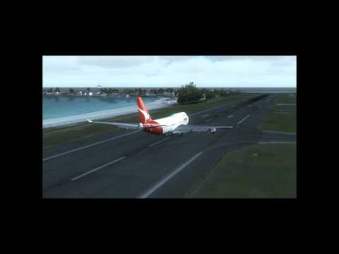Qantas Take Off 747-400 | PopScreen
