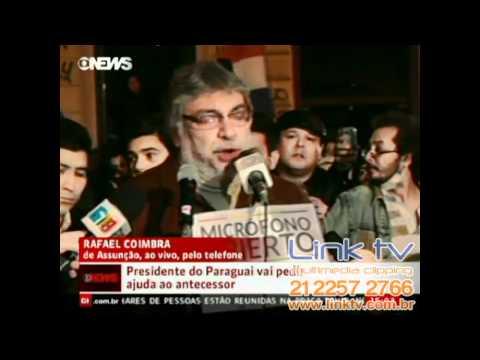 Ex-presidente paraguaio diz que novo governo não tem legitimidade - Globo News - Jornal da GN | PopScreen