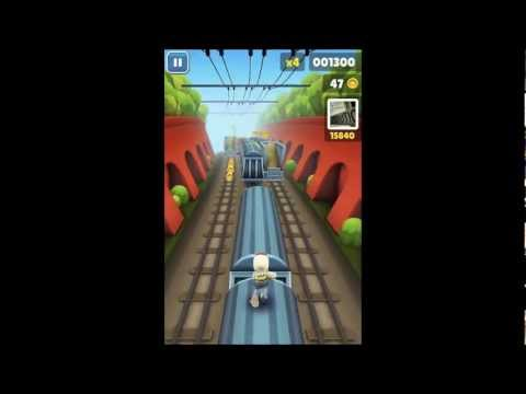 Subway Surfer For Touch Screen Laptop