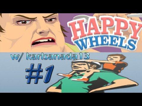 Let 39 s play happy wheels w karlsanada13 part 1 - Let s play happy wheels ...