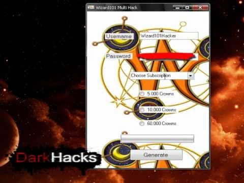 Wizard101 V5.6b Hack (Wizard Crowns Adder) 2012 Download | PopScreen