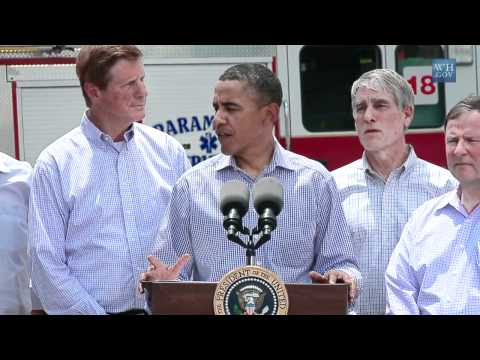 President Obama Speaks After Viewing Colorado Wildfire Damage | PopScreen
