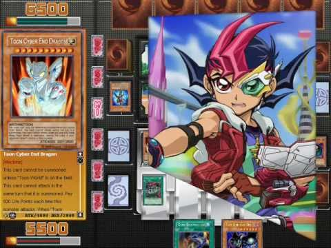 Yu-Gi-Oh! ZEXAL Power of Chaos Mod (PC Game) 2012 - Toon vs Yuma