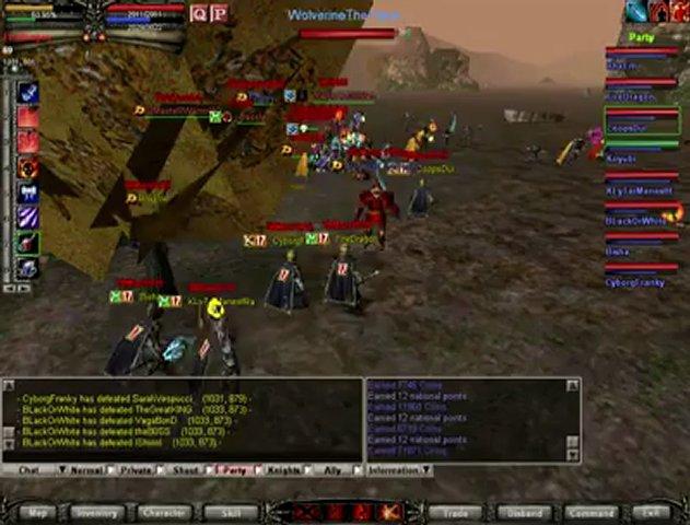 Knight online Old School Ko 18Mart1915 Clan Vur Çöksün xD | PopScreen