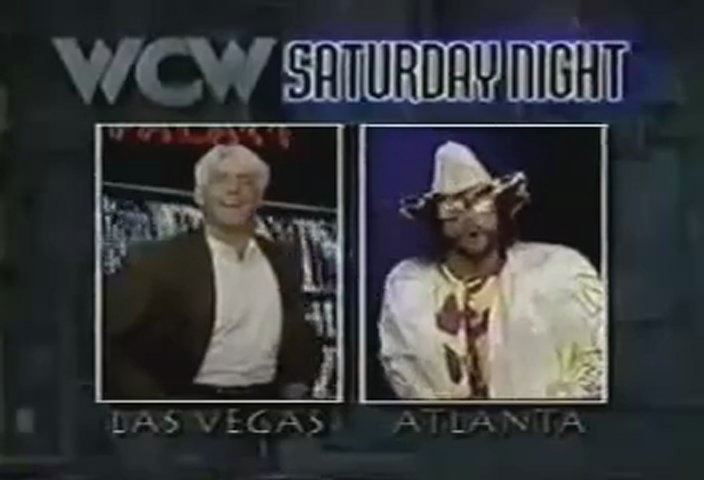Ric Flair/Macho Man Randy Savage Face to Face interview | PopScreen