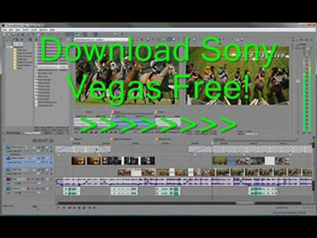 Скачать бесплатноSony Vegas Pro 9.0.563 x32 (Eng/Rus) кряк, crack,