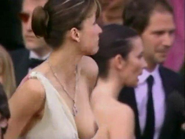 SOPHIE MARCEAU OOPS (Downblouse Cannes 2005)   PopScreen