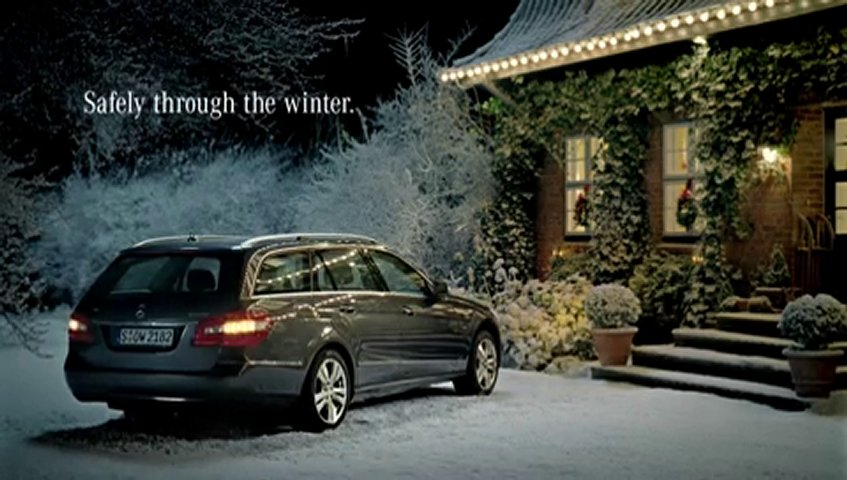 Mercedes benz christmas greeting tv commercial popscreen for Mercedes benz commercial