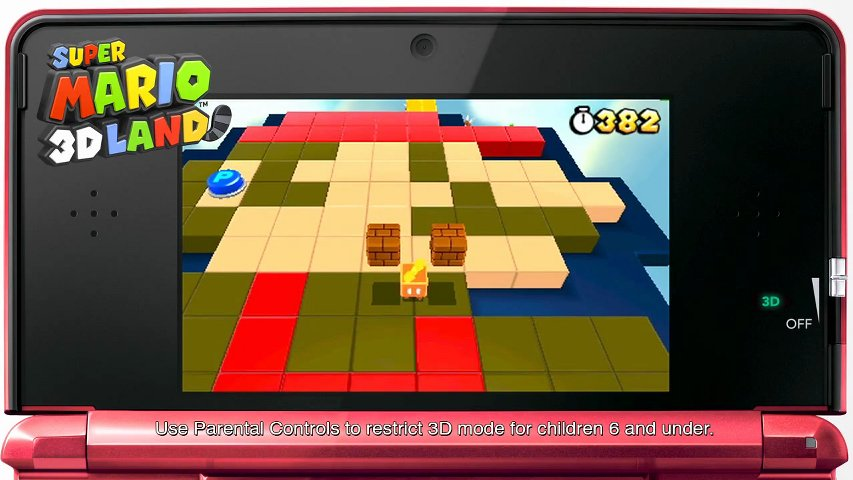 jeux de ds 3d mario 3d land. Black Bedroom Furniture Sets. Home Design Ideas