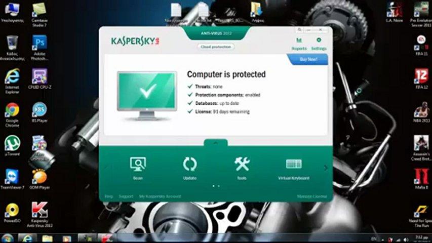 Kaspersky 2012-2013 antivirus crack Activation + free download( Working ) ,