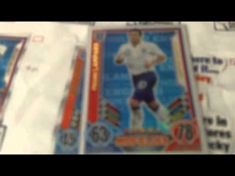 EURO 2012 Limited edition cards... GERRARD,WALCOTT,PARKER,YOUNG,JONES... -Vol 8 | PopScreen