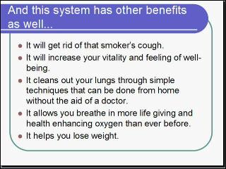 how to clean lungs from tar