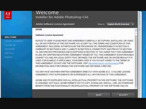 How to install adobe photoshop cs6 | tutorial hd | popscreen