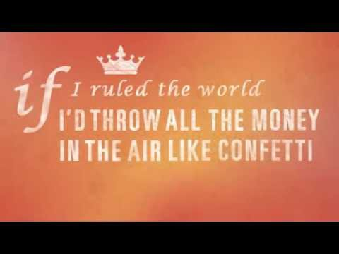 Big Time Rush - If I Ruled The World Lyrics | PopScreen