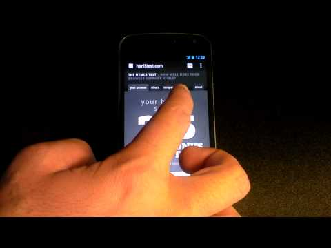 Samsung Galaxy Nexus Browser Speed Test and Google Chrome Beta | PopScreen
