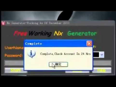 New Nexon Cash Generator 2012 ( with proof ) | PopScreen