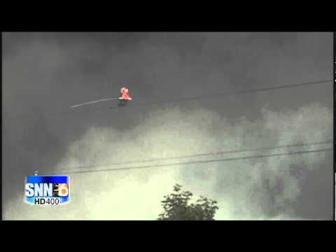 SNN6: WALLENDA COMPLETES HIS WALK ACROSS NIAGARA FALLS | PopScreen